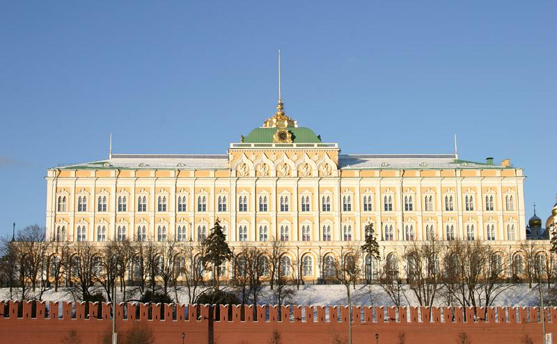 История кремлевского дворца