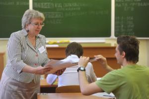 Сдача ЕГЭ по математике в московской школе