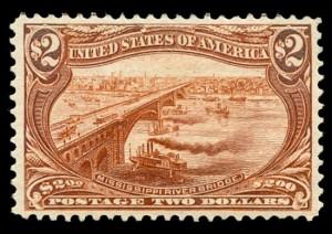 Наиболее редкие экземпляры почтовых марок