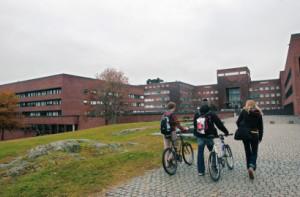 Universitetet i Oslo. Blindern. Foto: Håkon Mosvold Larsen