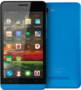 Мощный смартфон от Explay с говорящим названием Tornado