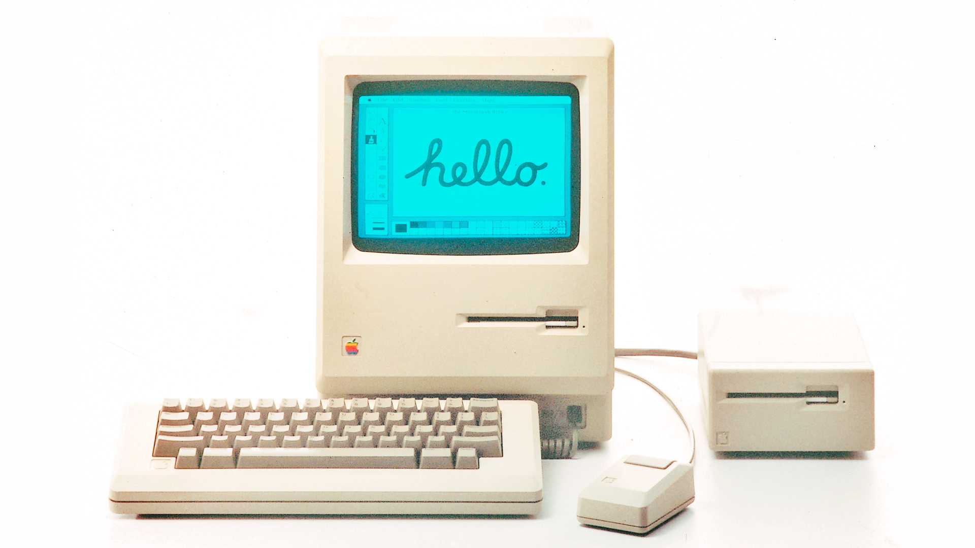 a history of apple inc in developing modern computers