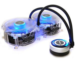 Жидкостной охлаждение для процессоров Intel и AMD от Zalman под названием Reserator 3 Max Dual