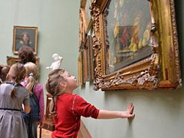 Посещение выставки – вариант семейного отдыха